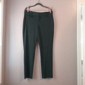 Calvin Klein Women's Dress Pants, Green, 12
